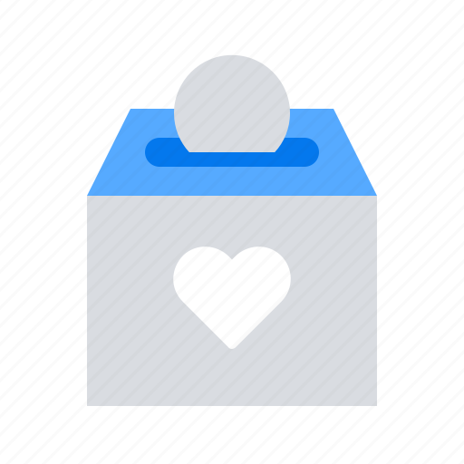 box, charity, contribution, donating, donation icon