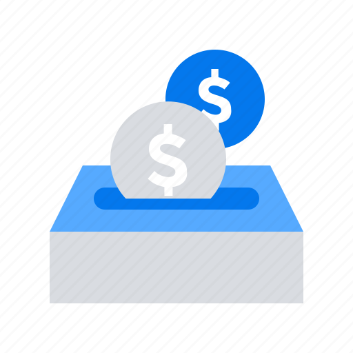 box, charity, contribution, donate, money icon