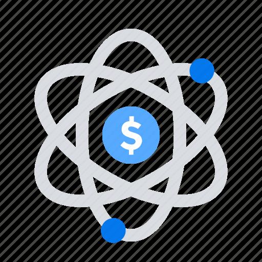 crowdfunding, flow, money, turnover icon