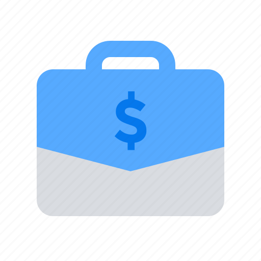 bag, case, money icon
