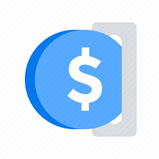 coin, insert, pay icon