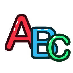 abc, alphabet, letter, letters icon