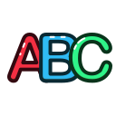 abc, letter, alphabet, letters icon