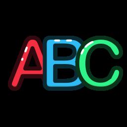 abc, alphabet, letter, letters icon