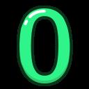 green, number, numbers, study, zero