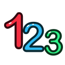 calculate, education, math, number, numbers icon
