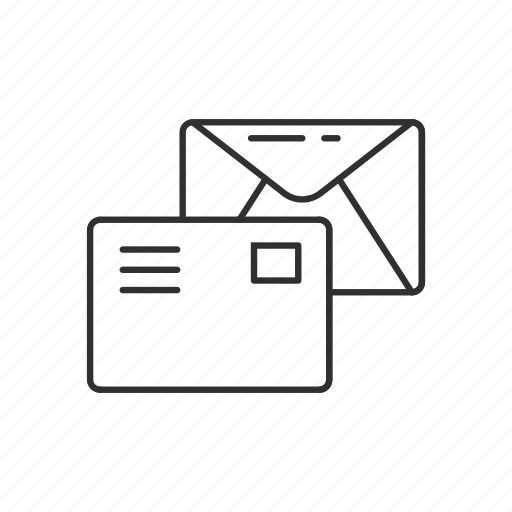 envelope, letter, mailbox, mailman, message, send, stamp icon