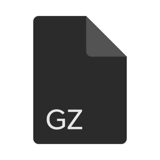 extension, file, format, gz icon