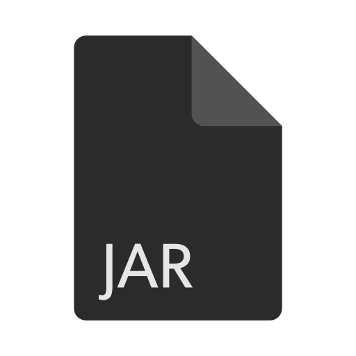 extension, file, format, jar icon