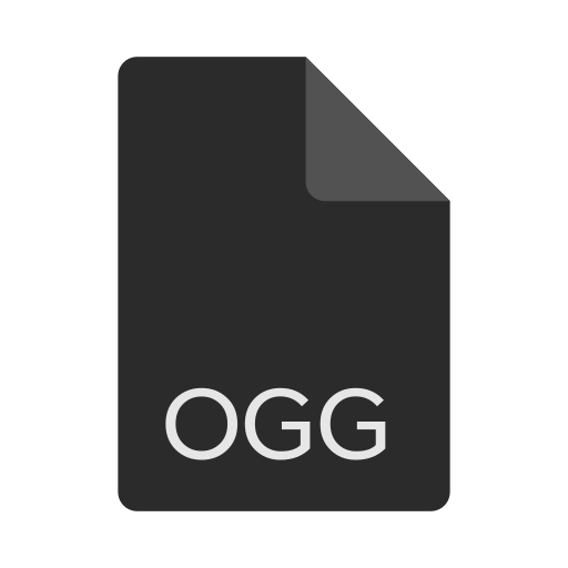 extension, file, format, ogg icon