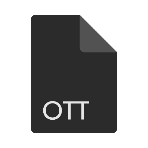 extension, file, format, ots icon