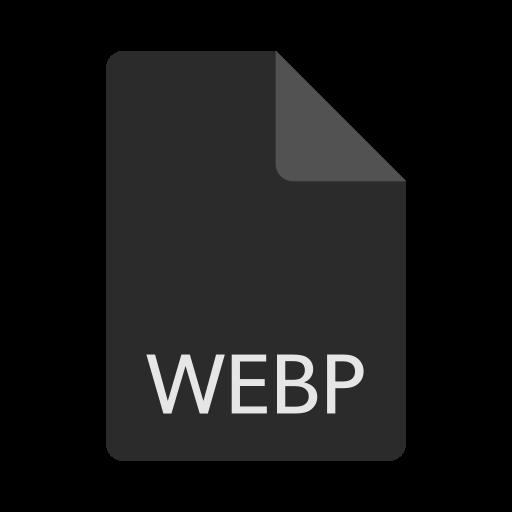 extension, file, format, webp icon