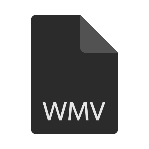 extension, file, format, wmv icon