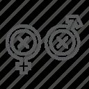 biphobia, discrimination, gender, lgbt, sex, sign icon