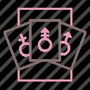 gender, genderqueer, identity icon