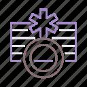 binary, gender, non, identity icon