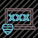 computer, heart, love, lovemaking