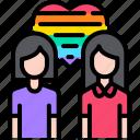 lesbian, love, lgbt, homosexual, couple, woman, relationship