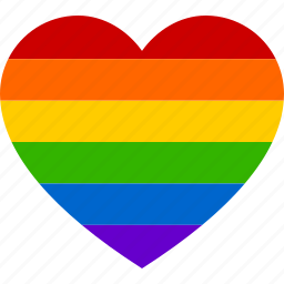 gay, heart, homosexual, lesbian, love, marriage, rainbow icon