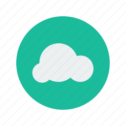 blue, clouds, cloudy, day, nature, sky, storage icon