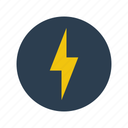 electrity, forecast, light, lighting, minimalistic, storm, thunder, weather icon