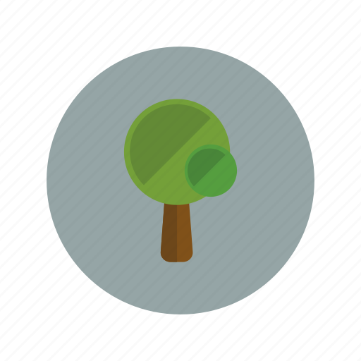 ecology, forest, green, nature, oak, plant, tree icon