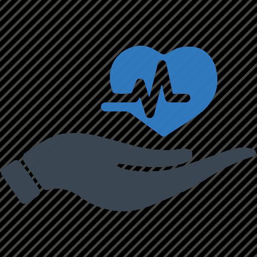 healthcare, heart care, heart disease, heart health, life insurance icon