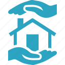 home insurance, mortgage protection, protection, real estate icon