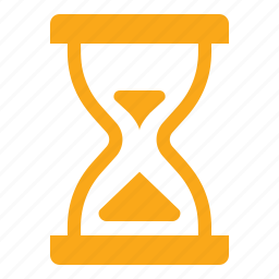 deadline, hourglass, timer icon