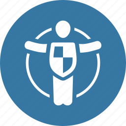 life insurance, life protection, shield icon