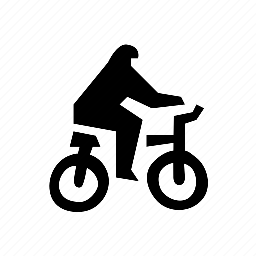 bicyclist, exercise, pedal, rider, transportation icon