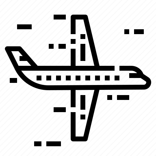 aircraft, airline, airplane icon