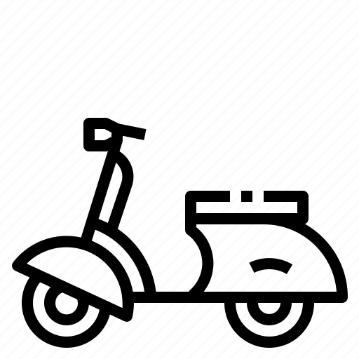 bike, motorcycle, scooter icon