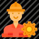 avatar, engineer, job, man, occupation