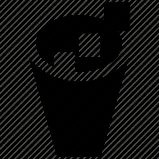 bin, delete, dust bin, remove, trash, trash can, waste icon