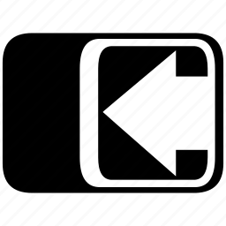 arrow, arrow left, direction, left, point, sign, way left icon
