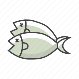 fillet, fish, food, ocean, omeaga 3, seafood icon
