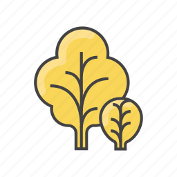 food, greens, healthy, leaf, mustard, vegetable, veggie icon