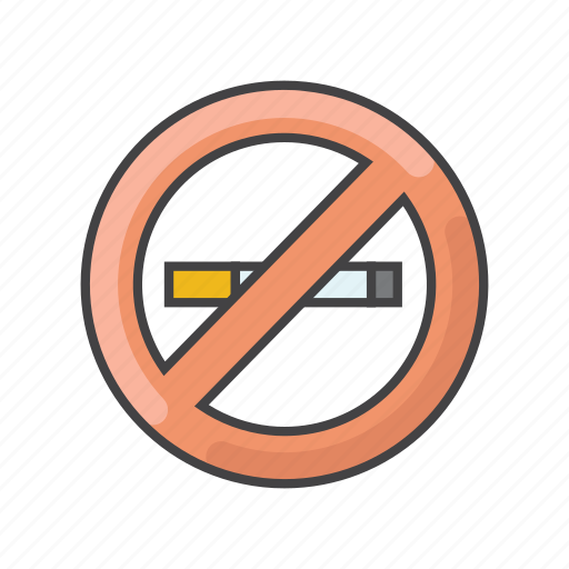 banned, cigarette, no, smoking, stop, warning icon