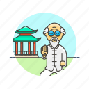 art, chi, chinese, lifestyle, martial, shrine, slow, tai icon