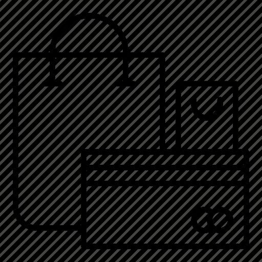 bag, business, commerce, shopper, shopping, shopping bag, supermarket icon