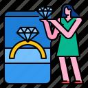 beautiful, diamond, fashion, gold, jewelry, ring