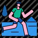 exercise, jogging, marathon, run, runner, training