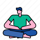 healthy, lifestyle, meditate, meditation, relaxation, yoga