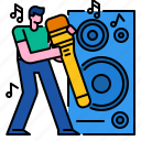 entertainment, microphone, music, musical, singing, song