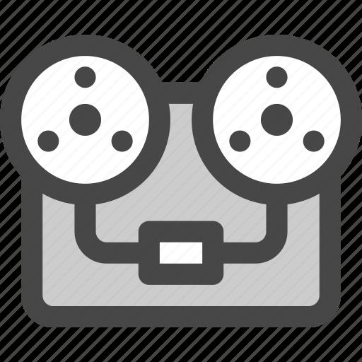audio, music, player, record, recorder, sound, tape icon