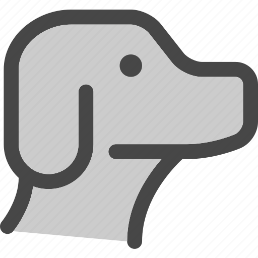 animal, dog, face, friend, head, pet, puppy icon