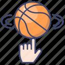 basketball, play, sport, ball