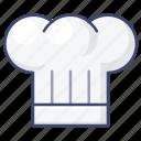 chef, hat, cook, kitchen icon