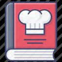 cook, book, recipe, menu icon